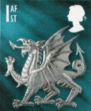 1st Class 'Welsh' Themed Stamp